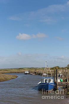 Thornham Creek Norfolk UK by John Edwards