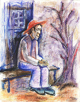 Thoughtful man by Milen Litchkov