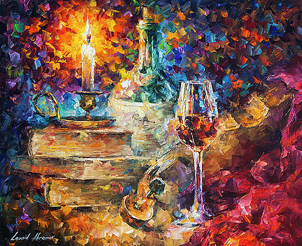 Thoughts Of Composing by Leonid Afremov