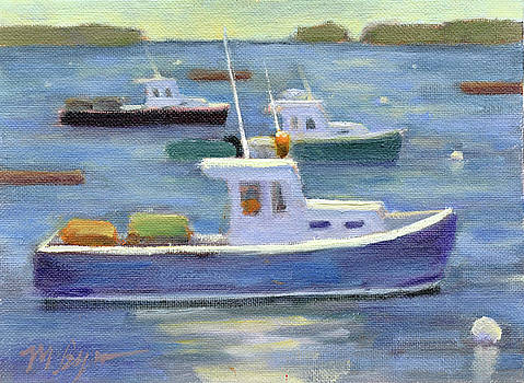 Three Boats by Mary Byrom