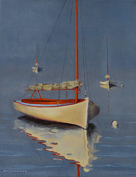 Three Boats  by Rich Alexander
