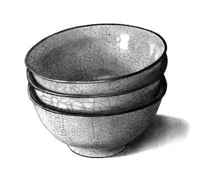 Joyce Geleynse - Three Bowls