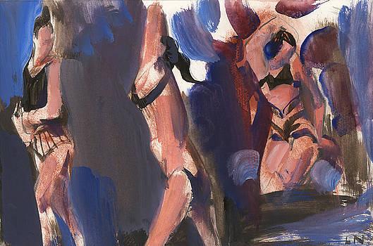Three Dancers by Laddy Norwood
