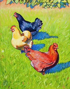 Three Girls by Stacey Neumiller