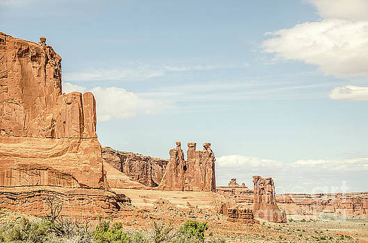 Three Gossips and Sheep Rock by Sue Smith