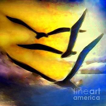 Dale   Ford - Three Gulls