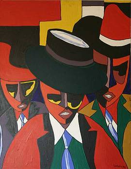Three Guys by Garnett Thompkins