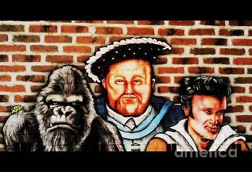 Three Kings in Cinerama by Kelly Awad