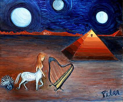 Three Moons by Pilar  Martinez-Byrne