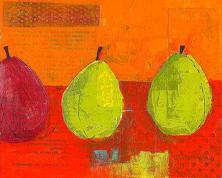 Three Pears by Laurie Breen