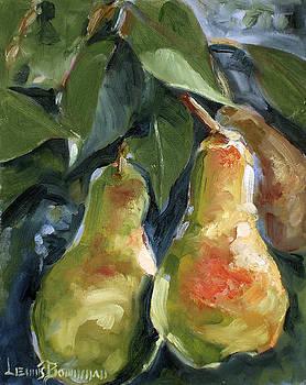 Three Pears by Lewis Bowman