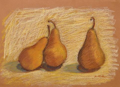 Phyllis Tarlow - Three Pears