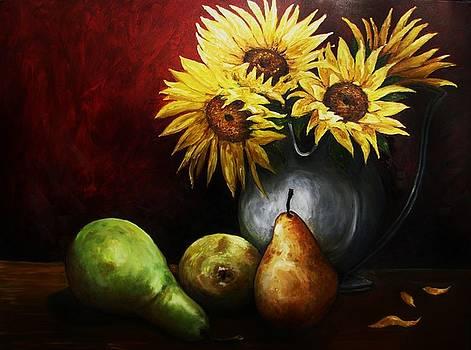 Three Pears by Richard Klingbeil