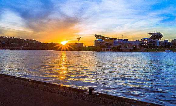 Three Rivers Sunset by Casey Stanford