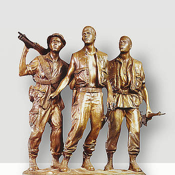 Three Soldiers by Frederick Hart