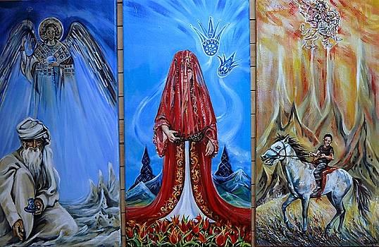 Anna Duyunova - Three Symbolic Paintings About Turkey