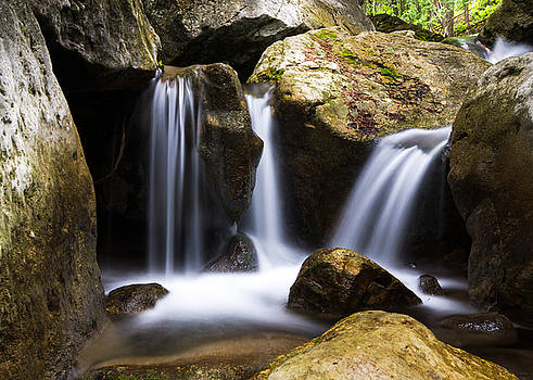 Three Waterfalls by Cale Best