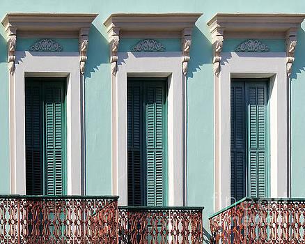 Three Windows by Cheryl Del Toro