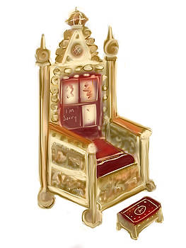 Throne Chair by Jean Pacheco Ravinski