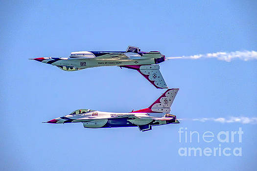 Thunderbirds Calypso Pass by Nick Zelinsky
