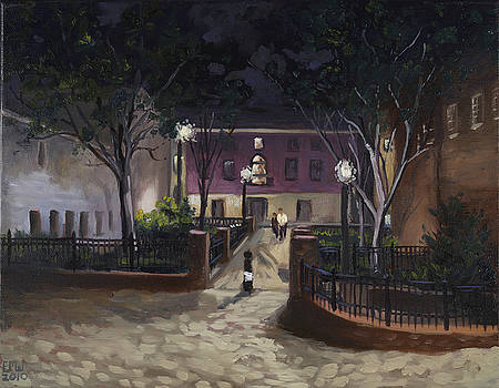 Edward Williams - Tiber Park at night