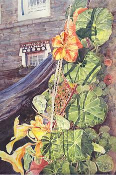 Tibetan window by Sarah Kovin Snyder