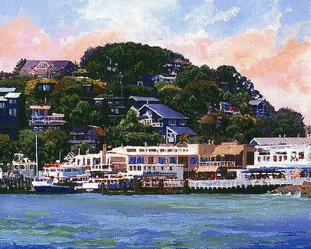 Frank Wilson - Tiburon California Waterfront