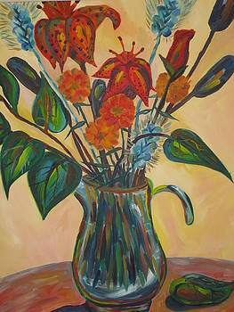 Tiger Lilies by Alisa Ivanova