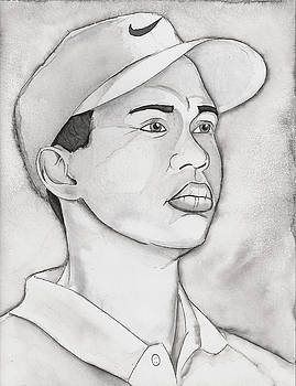 Tiger Woods by Nathan  Miller