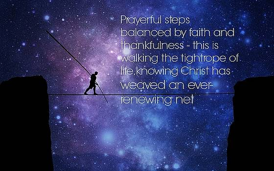 Tightrope Of Life by David Norman
