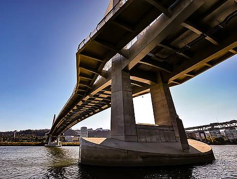 Tilikum Crossing Portland, Or by David Rigg