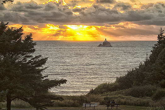 Tillamook Rock Lighthouse 0402 by Tom Kelly