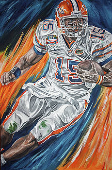 Tim Tebow by David Courson