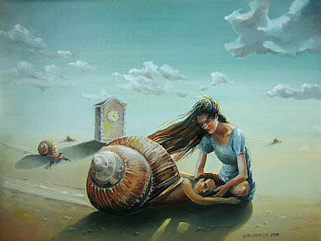 Time of the snail by Gregor Ziolkowski