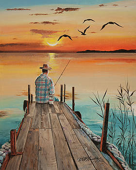 Time to Fish by Bill Dunkley