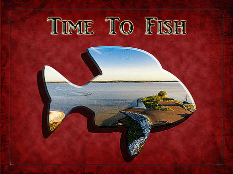 Barry Jones - Time to Fish - Fishing Art