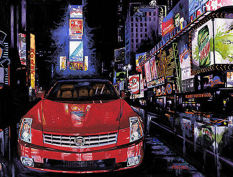 Times Square ....Cadillac by Mike Hill