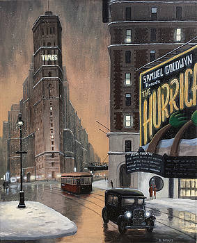 Times Square by Dave Rheaume