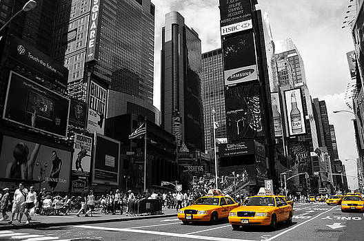 Times Square by Mandy Wiltse