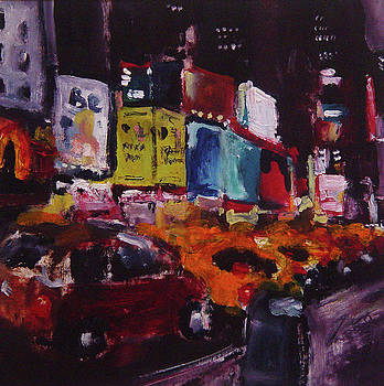 Times Square Tango by Richard Morin