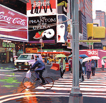 Times Square Umbrellas by Patti Mollica