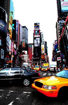 Times Square Vibrants  by Anthony Jensen