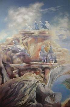 Tinos Birds by Eve Corin