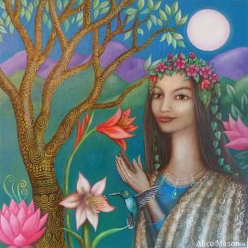 Titania Queen of the Faeries by Alice Mason