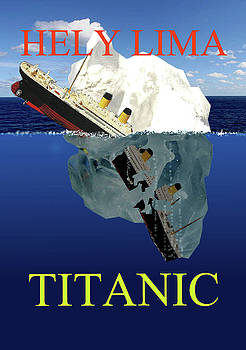 Titanic last moments by Hely Lima