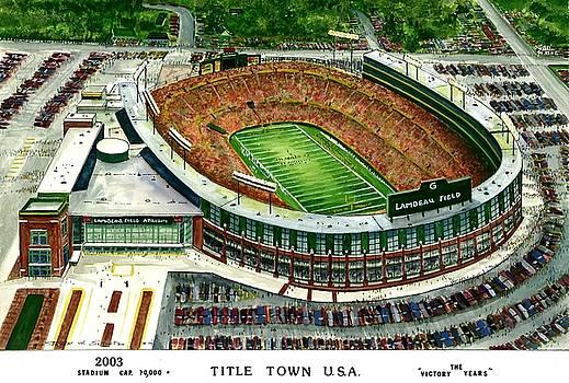 Title Town U.S.A. by Steven W Schultz