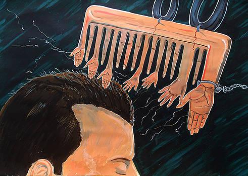 To comb the social reactions by Lazaro Hurtado