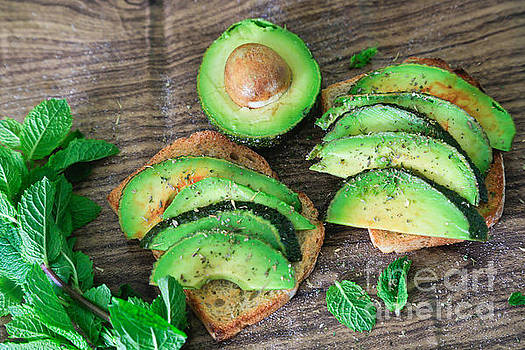 Toasted Avocado Sandwich by Tracy  Hall