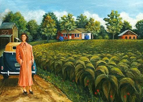 Tobacco Farm  by Richard Klingbeil