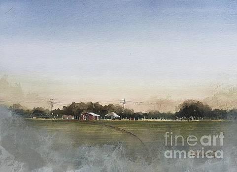 Toenail Trail Wheat Field by Tim Oliver